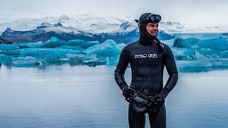 Diving my way around ICELAND - Silfra & ICEBERGS !