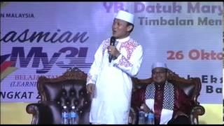 preview picture of video 'My3L@CC SABAH 2013: Ceramah Santai Bersama Ustaz Das'ad Latief'