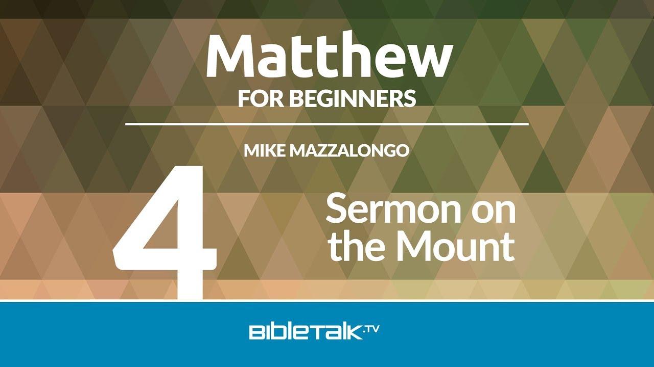 4. Sermon on the Mount