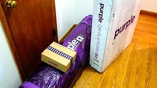 Purple Mattress Unboxing and Review - NOT SPONSORED