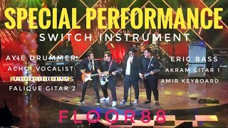 Apabila Floor88 Tukar Instrument Ayie Main Dram, Achoi Jadi Vokalis...Apa Jadi Jom Saksikan!!!!