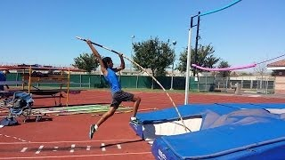 Pole Vault: Swing up Tutroial