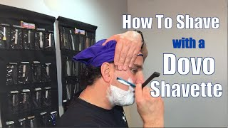 Dovo Shavette Style Straight Razor Review and Shave