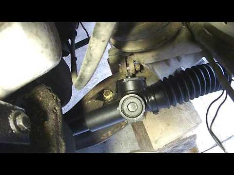 Замена рулевой рейки Ford Sierra