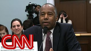 Carson confronted about furniture cost on Capitol Hill