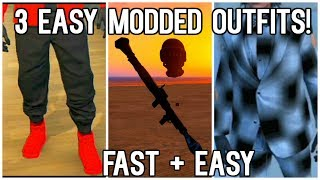3 BEST *MODDED* OUTFITS - ANY JOGGERS, FULLY INVISIBLE Body, Dope CHECKERBOARD Outfit (PS3/360)