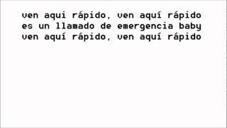 Llamado de emergencia con letra - Daddy Yankee