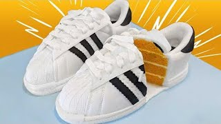 ADIDAS SUPERSTAR OR CAKE? Incredibly Realistic Cakes | How To Cake It ft. Adelaine Morin