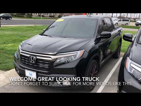 2017 Honda Ridgeline Black Edition Would you put 20inch wheels?