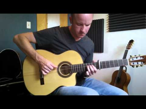 The Bourne Identity: Extreme Ways (Moby) fingerstyle guitar