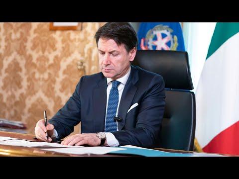 Palazzo Chigi, 11/03/2020 - Dichiarazioni del Presidente del Consiglio, Giuseppe Conte.