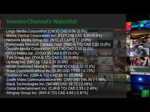 InvestorChannel's Media Watchlist Update for Friday, July  ... Thumbnail