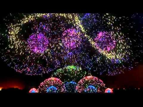 Màn trình diễn pháo hoa đẹp có một không hai trên thế giới! đẹp tuyệt vời