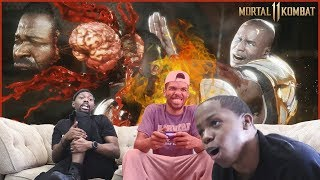The HOT Seat: Mortal Kombat 11 - Can You Win While Getting Roasted?