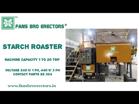 Fansbro Starch Roaster
