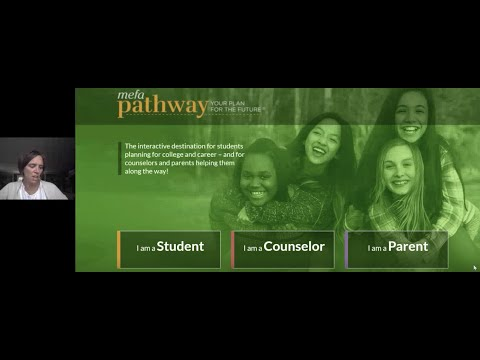Family & School Counselor Webinar Series Use MEFA Pathway to Create Goals & Strategies