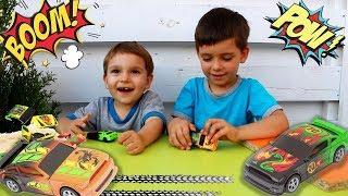 #Машинки Fast Crash Развлекательное видео для детей Краш - тест машинок Разбиваем машинки Распаковка