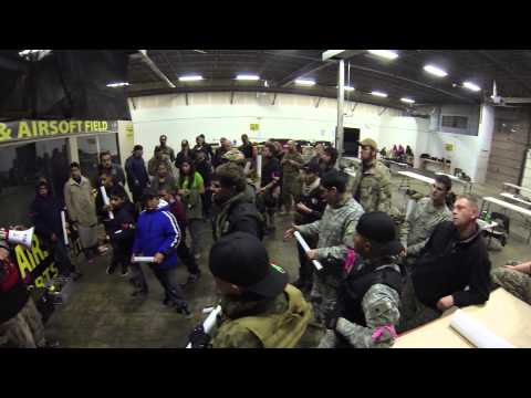 American Paintball Coliseum Grand Opening Airsoft