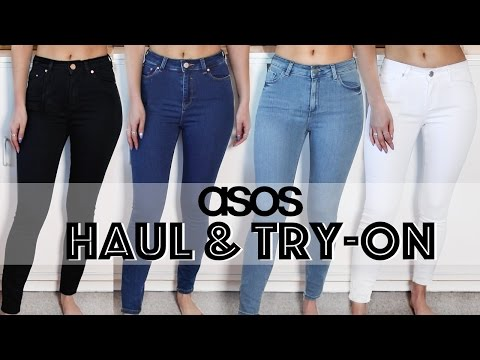 Try-on Haul – Asos Jeans | LLimWalker
