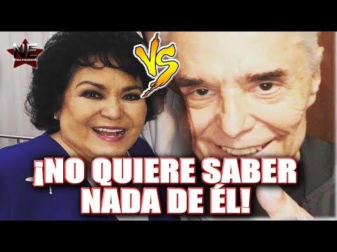 Carmen Salinas no acepta las disculpas de Enrique Guzmán