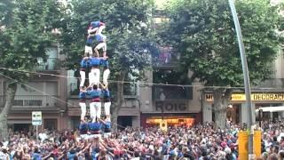 preview picture of video 'Diada castellera a Arenys de Mar'