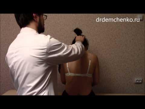 Как делают самомассаж шеи при остеохондрозе