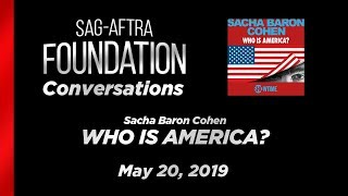 Conversations With Sacha Baron Cohen Of WHO IS AMERICA?