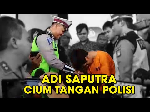 Download Video Adi Saputra Perusak Motor yang Viral Menangis Minta Maaf, Cium Tangan Polisi yang Menilang HD Mp4 3GP Video and MP3