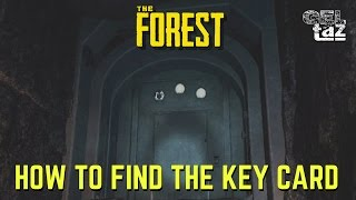 The Forest Key Card How to find it