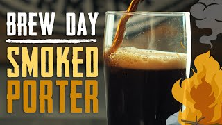Smoked Porter Brew Day | Homebrew Recipe | How To Brew Beer