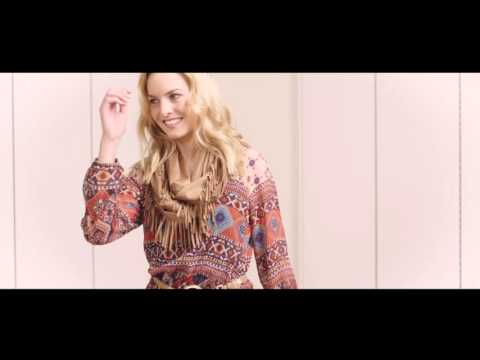 """How to style an ethnic print tunic:  """"Ethno Chic"""" look by ORSAY"""
