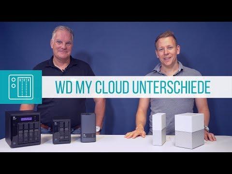 WD My Cloud Unterschiede der verschiedenen Serien erklärt (Werbung)