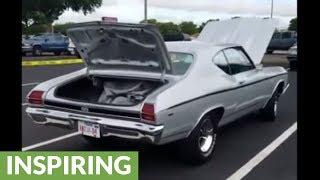 Son surprises dad with car of his dreams