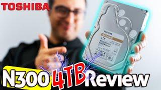 Toshiba N300 4tb NAS Hard Drive Review HDWQ140EZSTA
