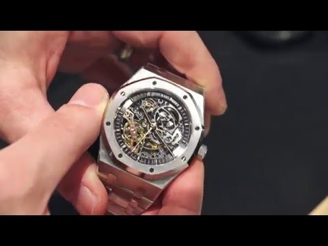 Audemars Piguet Royal Oak Double Balance Wheel Openworked Watch Hands-On   aBlogtoWatch