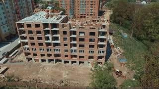 Construction progress of Apartment complex Comfort