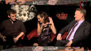 Interview Sam Claflin, Olivia Cooke & Jared Harris pour The Quiet Ones : NoGood Televsion
