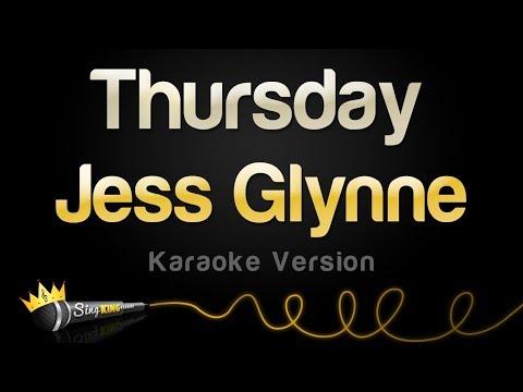 Jess Glynne Thursday Karaoke Version