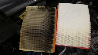 How often to change car air filter???? Watch what your filter might look like right now