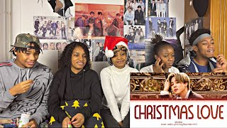 BTS JIMIN 'Christmas Love' lyrics (reaction)