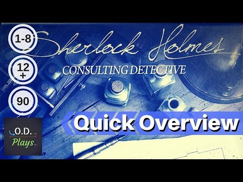 Sherlock Holmes Consulting Detective: Carlton House & Queen's Park Quick Overview