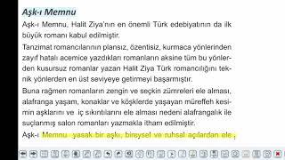 Eğitim Vadisi AYT Edebiyat 23.Föy Servetifünun Döneminde Roman Konu Anlatım Videoları