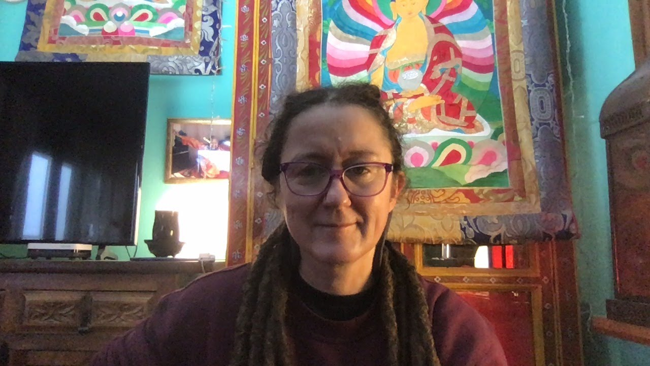Lama Gangchen Tantric Self-Healing 2- Commentary by Lama Caroline - part 45 (EN)
