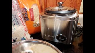 Cuisinart 4 Cup Rice Cooker - Unboxing and Demo