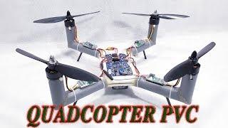 Chế Quadcopter với ống nhựa PVC
