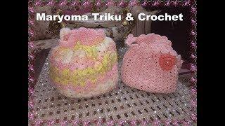 كروشيه شنطة بناتى بغرزة الصدفة خطوة بخطوة Crochet Bag For Girls #مريومة_تريكو_كروشيه