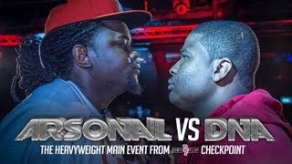 ARSONAL VS DNA | Don