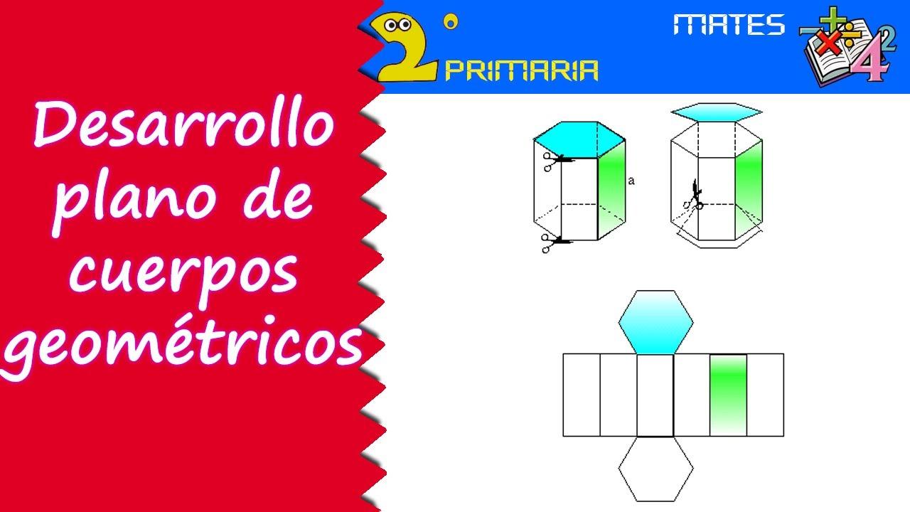 Matemáticas. 2º Primaria. Tema 5. Desarrollo plano de los cuerpos geométricos