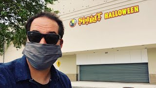 SPIRIT HALLOWEEN 2020 IS OPEN - Tour of TAMPA Costume Store NEW SCARY ANIMATRONICS - Mask Required