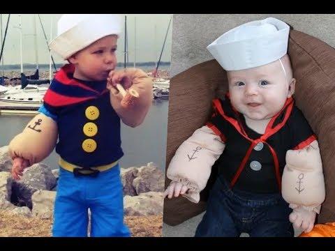 Disfraces de Popeye el Marino para toda la familia